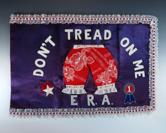 "First_Lady_Betty_Ford's_""Bloomer_Flag"""